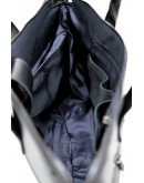 Фотография Черная кожаная мужская сумка для документов Tarwa GA-7120-1md