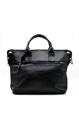Черная кожаная мужская сумка для документов Tarwa GA-7120-1md