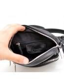 Фотография Мужская небольшая черная сумка на плечо Tarwa GA-8086-3md