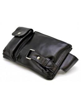 Кожаная мужская сумка на пояс Tarwa GA-8135-3md