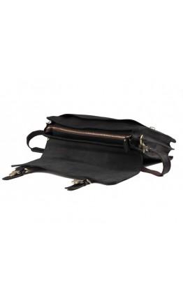 Кожаный портфель мужской черного цвета GA2095A