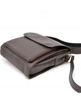 Коричневая сумка мужская через плечо Tarwa GC-3027-4lx