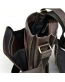 Фотография Коричневая сумка мужская через плечо Tarwa GC-3027-4lx