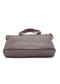 Коричневая мужская кожаная сумка для документов Tarwa GC-7120-2md