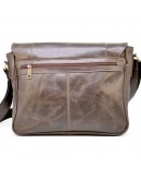 Фотография Деловая коричневая горизонтальная мужкая сумка Tarwa GC-7338-3md