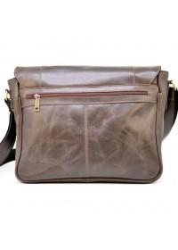 Деловая коричневая горизонтальная мужкая сумка Tarwa GC-7338-3md