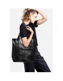 Фотография Черная кожаная женская сумка GR-0599A