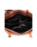 Фотография Женская вместительная кожаная сумка GR-2002LB