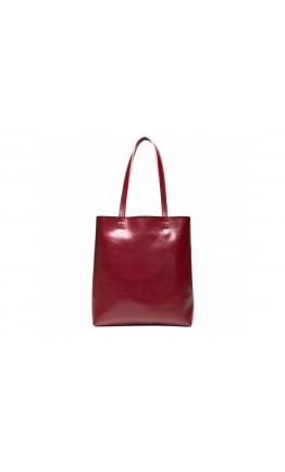 Женская красная кожаная сумка GR-2002R