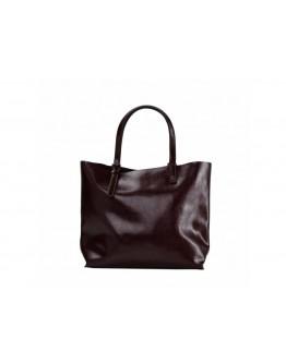 Коричневая женская удобная сумка GR-2011B