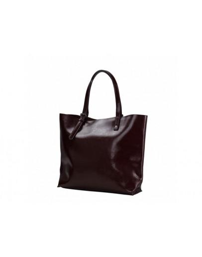 Фотография Коричневая женская удобная сумка GR-2011B