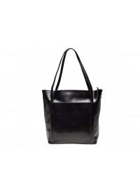 Черная женская кожаная сумка GR-2013A