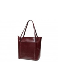 Женская сумка коричневая кожаная GR-2013B
