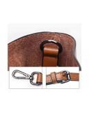 Фотография Светло-коричневая женская кожаная сумка GR-2013LB
