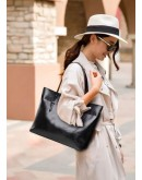 Фотография Деловая кожаная женская сумка GR-6688A
