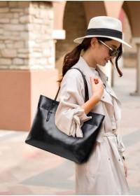 Деловая кожаная женская сумка GR-6688A