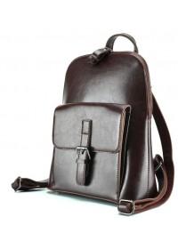 Коричневый женский кожаный рюкзак GR-830B-BP