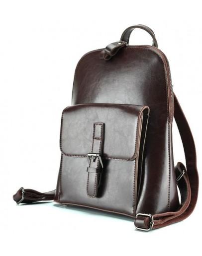 Фотография Коричневый женский кожаный рюкзак GR-830B-BP