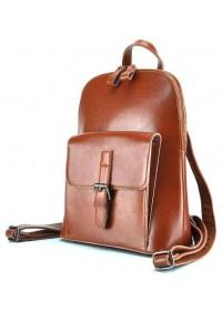 Светло-коричневый женский кожаный рюкзак GR-830LB-BP