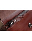 Фотография Бордовый женский рюкзак кожаный GR-8325B
