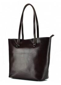 Женская коричневая сумка кожаная GR-832B