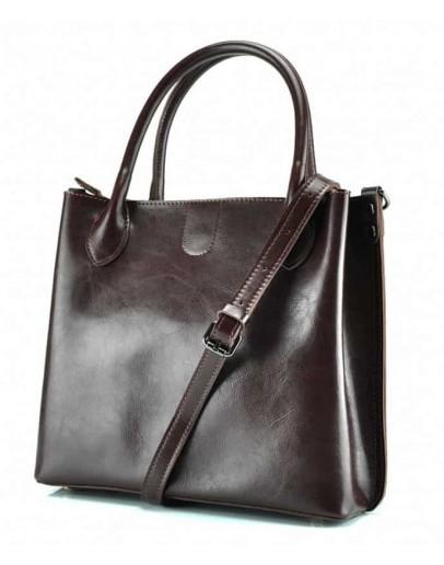 Фотография Женская деловая кожаная сумка GR-837B