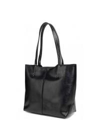 Черная сумка женская кожаная GR-8830A