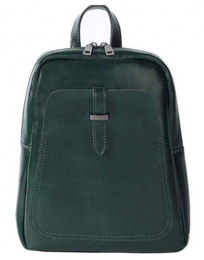 Фотография Зеленый женский кожаный рюкзак GR-8860GR