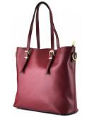 Фотография Красная женская кожаная деловая сумка GR3-173BO