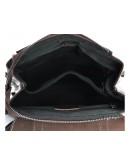 Фотография Женский коричневый рюкзак кожаный GR3-6095B-BP