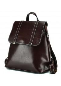 Женский коричневый рюкзак кожаный GR3-6095B-BP