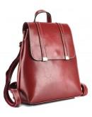 Фотография Кожаный красный женский рюкзак GR3-6095R-BP