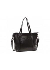 Женская сумка кожаная черного цвета GR3-6101A