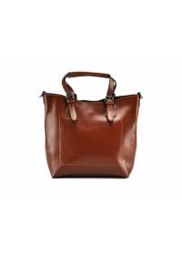 Кожаная женская рыжая удобная сумка GR3-6103LB