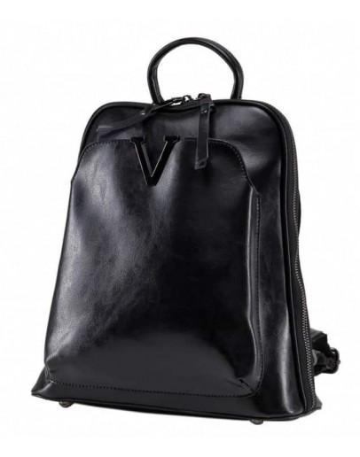 Фотография Женский кожаный рюкзак - сумка GR3-801A-BP