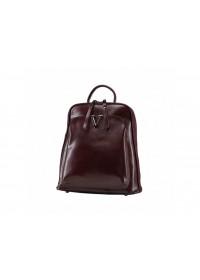 Женский рюкзак кожаный бордового цвета GR3-801BO-BP
