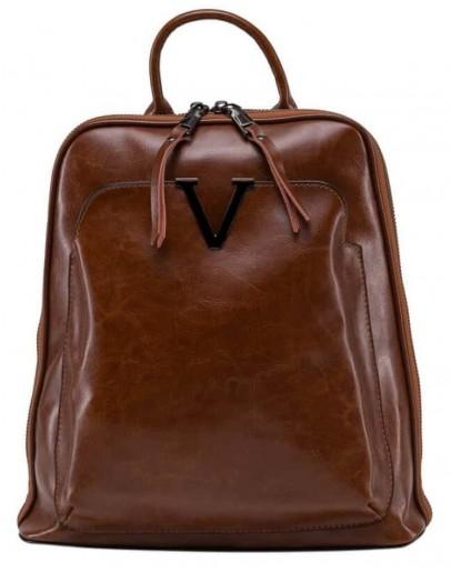 Фотография Коричневый женский кожаный рюкзак GR3-801LB-BP