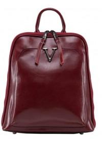 Красный рюкзак женский из натуральной кожи GR3-801R-BP