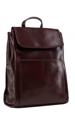 Бордовый женский рюкзак из кожи GR3-806BO-BP