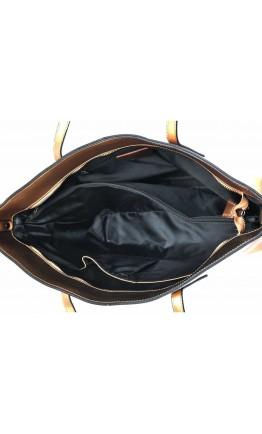 Женская кожаная сумка золотого цвета GR3-8687BGM