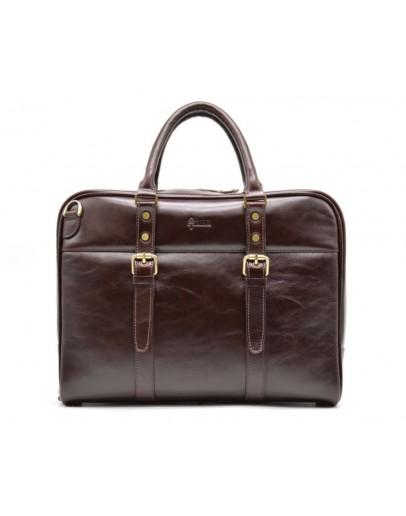 Фотография Деловой кожаный портфель TARWA GX-4764-4lx
