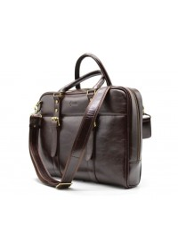 Деловой кожаный портфель TARWA GX-4764-4lx