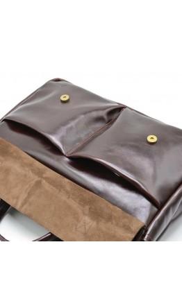 Кожаная мужская сумка для документов и ноутбука Tarwa GX-7107-3md