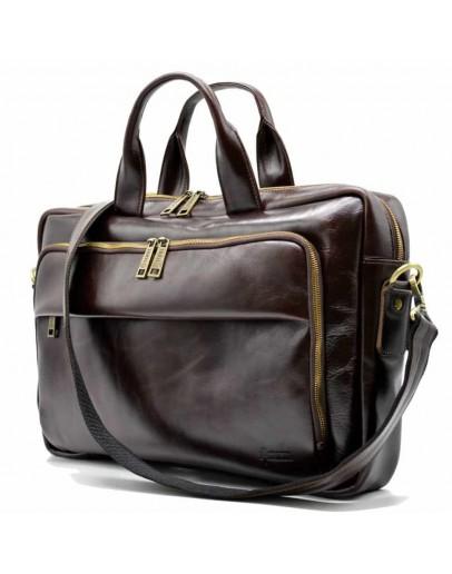 Фотография Деловая мужская темно-коричневая сумка Tarwa GX-7334-3md