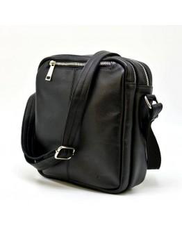 Черная кожаная мужская плечевая сумка Tarwa Ga-60121-3md