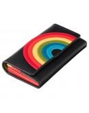 Фотография Черное женское портмоне мультиколор Visconti HR80 (Black Rainbow)