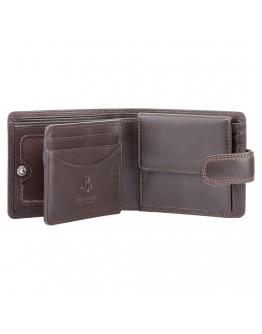 Мужской коричневый кошелек Visconti HT10 Knightsbridge c RFID (Chocolate)