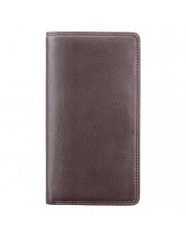 Мужское коричневое портмоне Visconti HT12 Big Ben c RFID (Chocolate)