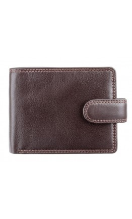 Коричневый кожаный кошелек Visconti HT13 Strand c RFID (Chocolate)