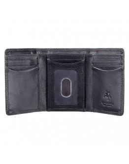 Удобный мужской кошелек Visconti HT18 Compton c RFID (Black)